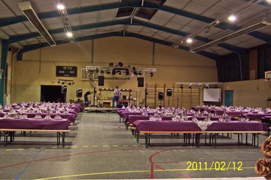 la soirée de A.P.E.L de l'internat de la mission africaine de haguenau